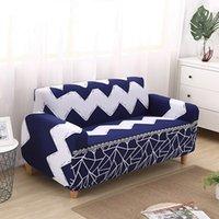متعددة الوظائف الشامل شاملة أريكة أريكة 4 حجم مرونة أريكة غطاء النسيج الرجعية متعددة الألوان الطباعة ديكور المنزل أريكة يغطي DH0911