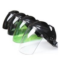 Muhafız Lehimleme Güvenlik Koruyucu Maske Kaynak Kask Aracı PC Taşınabilir Guard Hat Elektrik Pratik Tam Yüz Baş monte