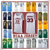 NCCA Jersey Kawhi Leonard James Iverson Uomini Durant 13 Harden Curry Stephen College Basketball Maglie Russell Westbrook Men18