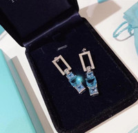 Designer Blue Book High Jewelry Collection Blue Square Diamo...