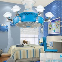 Negative Ion Electric Fans With Europe Style LED Ceiling Lig...