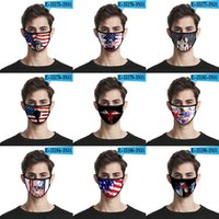 Kids Adult 2020 American Flag Face Masks Ice Silk Protective...