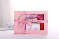 Señoras Perfect Home Spa Sauna Set de Tratamiento de Baño Mejor Cuerpo de Baño Conjunto de regalos Regalo de cumpleaños de Navidad para Mujeres 5 unidades set # 246
