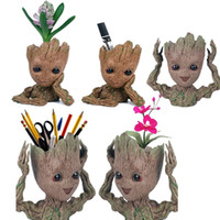 Tree Man Pencil Pen Holder Flower Pot Guardians of The Galax...