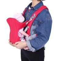 Sommer-Baby-Fördermaschine Doppelriemen Einstellbare Vorder Rucksack Wrap Sling Sitzbreathable bequeme Utiility Baby-Halter