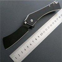 python Preto dobrar facas fipper Ferramentas faca Camping Survival Folding presente Faca Outdoor xmas faca presente para homem 1pcs Adco