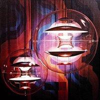 현대 Verpan VP 글로브 펜던트 조명 아크릴 Abajur 다이닝 룸 침실 Hanglamp Bar Hotel Gu10 LED Luminaire 빈티지 램프