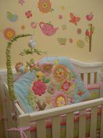 Förderung 7 stücke krippe bettwäsche set für baby girl 100% baumwolle baby bettwäsche süße mädchen krippe bumper set cuna quilt bumper
