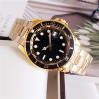 Dropshipping Top Herren-Uhr SEA-Dweller Sapphire Stanless Stahl 40mm automatische mechanische Armbanduhren Basel Rote Uhren für Männer Geschenk