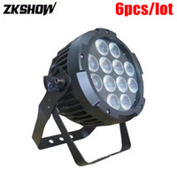 Скидка 80% DMX IP65 12pcs 10W / 12W / 15W RGBWAUV LED Flat Par Light DMX DJ Disco Party Stage Lighting Effect Luces Discoteca Proyector