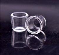 Quarzo Inserire Bowl OD 15 millimetri 20mm per Banger termica lucido sostituibile quarzo olio Pls piatto scegliere Dab Rig all'ingrosso