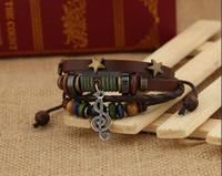 Vintage Music Note Bracelets en cuir pour femmes Braclet Male Pulseras Mujer Braslet Femme Vêtements Accessoires Accessoires