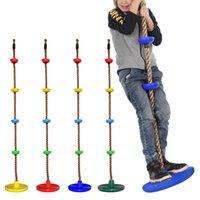 스윙 ZZA2350 오션 배송 로프 스윙 디스크 등반 로프 어린이 키즈 가든 스윙 놀이터 뒤뜰 야외 등반 아이들