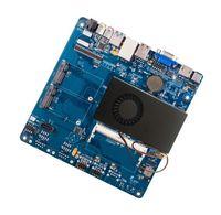 Mini placa base de doble núcleo 1037U puerto serie dual en la tarjeta gráfica i3i5CPU conjunto de cuatro núcleos mini itx