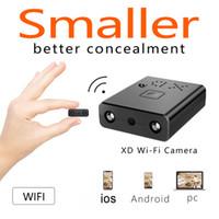 Küçük Mini XD Wifi Kamera HD 1080 P Kızılötesi Gece Görüş MINI DV DVR Gözetim IP / AP Kamera Hareket Algılama Uzaktan Alarm Kamera