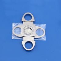 Paslanmaz Çelik Puro Kesici Küçük Çift Bıçaklar Puro Makas Saf Metal / Metal ile Plastik Kesme Puro Cihazlar LXL567-1
