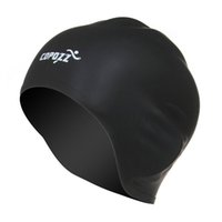 COPOZZ Swimming Hat Sexy Women Girls Long Hair Swim Cap Stre...