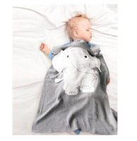 Baby Blankets Newborn Elephant Cartoon Top Quality Blanket K...