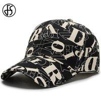 Erkekler Snapback Alfabe Casquette Hip Hop Kadınlar Doğa Sporları Trucker Şapka Gorras Para Hombre T200611 İçin FS Yeni Trend Beyzbol Caps