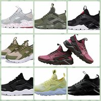 NHRC4A 2018 Hot new Huarache 4. 0 Classical White Black Men W...