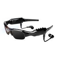 Sport intelligente funzione MP3 fotocamera Occhiali da sole HD Sport all'aria aperta Equitazione Occhiali online in chat video intelligente Eyewear Camcorder