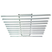 LED Grow Light Bar Fixture 360W LED spettro completo coltiva la luce 120 centimetri serra idroponica Medica 10 in 1 192 * 0.5W pianta crescere Tubo