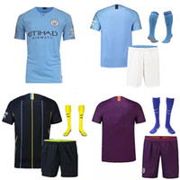 Manchester City Soccer Jersey High- Quality 7 STERLING 10 KUN...