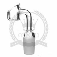 4mm dick Eimer Quarz Nagel Glasbongs Bong Wasserpfeife Hitman Mini Flüssiges Glas Rigs Bangers Saft Getreide Box Öl Rig