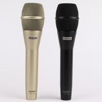 2019 En Kaliteli KSM9 Profesyonel Canlı Vokal KSM9 Dinamik Kablolu Mikrofon Karaoke Mikrofonun Supercardioid Podcast Mikrofonun Mic