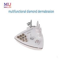 2019 multifuncional diamante microdermoabrasão pulverizador oxigênio hydrafacial para a máquina de beleza do cuidado da pele spa para casa e salão de beleza