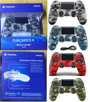 Camouflage PS4 Wireless Bluetooth Game Gamepad SHOCK4 Contro...
