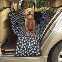 Emniyet Kemeri transportin perro ile Pet Dog Taşıyıcılar Su geçirmez Arka Arka Pet Köpek Oto Koltuk Kılıfı Minderleri Hamak Koruyucu