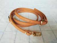 la sostituzione della cinghia di sacchetto di cuoio genuino fai da te 0.9 * 125CM Bag Accessori Crossbody cinghia