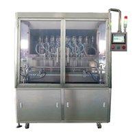 Otomatik Servo Piston Tipi Sıvı Dolum Makinesi Dolum Üretim Hattı
