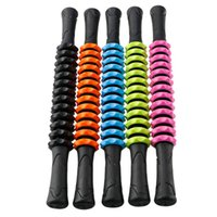 Body Roller Muscle outil de massage Sticks Trigger Jambes fitness Portable Bras de remise en forme bâton de massage Rouleau Accueil Yoga Massage bâton DS0652-1 TQQ