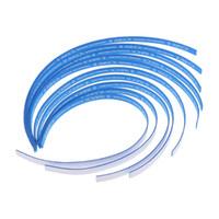10 Piezas Mesa de ping pong borde de la cinta lateral de la raqueta Esponja Proteger Azul