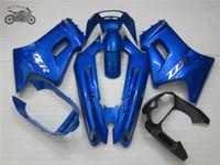 carenature cinesi di alta qualità fissati per Kawasaki 1990-2007 ZZR250 blu ABS corsa su strada di plastica i corredi della carenatura ZZR250 ZZR 250 90-07