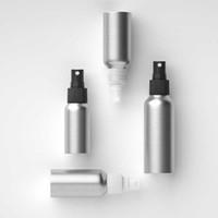 30ML 100ML 120ML 250ML الألومنيوم غرامة ضباب زجاجات رذاذ زجاجة فارغة تستخدم كما عطر الضروري النفط النفط موزع زجاجة التجميل
