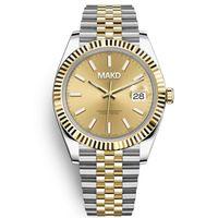 U1 Orologio Автоматические механические часы Мужчины большой лупа 41 мм из нержавеющей стали сапфировые мужские часы мужские наручные часы водонепроницаемый светящийся