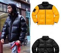 Lüks Aşağı Ceket Erkek Tasarımcı Parka Ceket Erkekler Kadınlar Yüksek Kalite Sıcak Ceket Giyim Tasarımcısı Kış Mont 3 Renk Boyutu M-XL QER