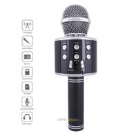 Faroot WS-858 Voice Tube Wireless-Karaoke Einfaches Mikrofon KTV-Player Bluetooth Mic Lautsprecher Lustige Durable Komfortable Singen Werkzeug