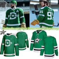 2019-2020 Dallas Stars Jersey peut être personnalisé pour n'importe quel joueur n'importe quel nombre de maillots de hockey classiques verts