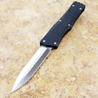 Combat TroodOTFn satin D E 440 blade T6061 handle folding fi...