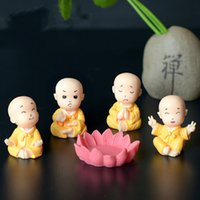 Happy Anger Emotions Priestling Little Monk Lotus Miniature ...