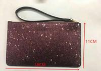 YENI parlayan glitter sparkle sikke çantalar tasarımcı Kadın Cüzdan Bileklik yıldız marka tasarımcı debriyaj çanta fermuar pu tasarım lüks çanta fabrikası