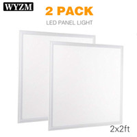 2 Pack 2x2FT 40W, Ultra Thin LED Flat Panel Light, Drop Ceil...