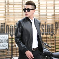 Motorcycle Biker Winter Jackets Mens Fashion Chaqueta Moto Hombre Male  Casual Coat Men Zippers Faux Leather Outerwear 4XL