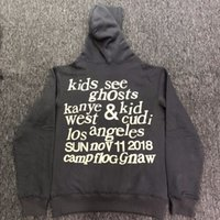 2019ss Best Quality Kanye West & Kids See Ghosts Letter prin...