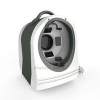 모발 및 고해상도 카메라 자동 얼굴 인식을위한 마법의 휴대용 스킨 분석기 기계