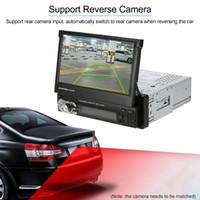 Freeshipping Universal 7Inch Einziehbarer DIN MP5-Player Auto-Stereo-Radio-Player Multimedia-Unterhaltung mit Bluetooth FM USB SD